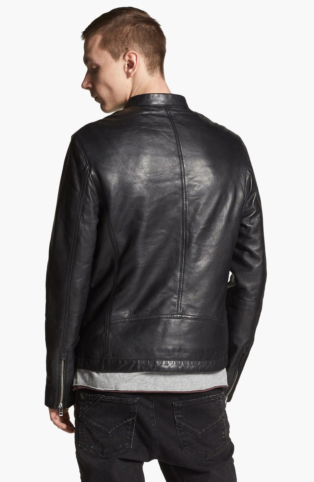 Alternate Image 2  - Zadig & Voltaire Leather Jacket