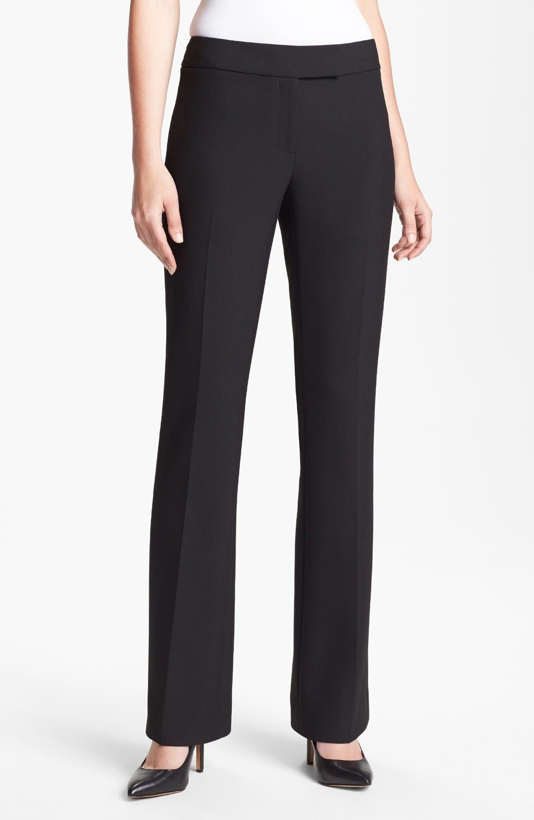 Alternate Image 1 Selected - Classiques Entier® 'City Weave' Trousers