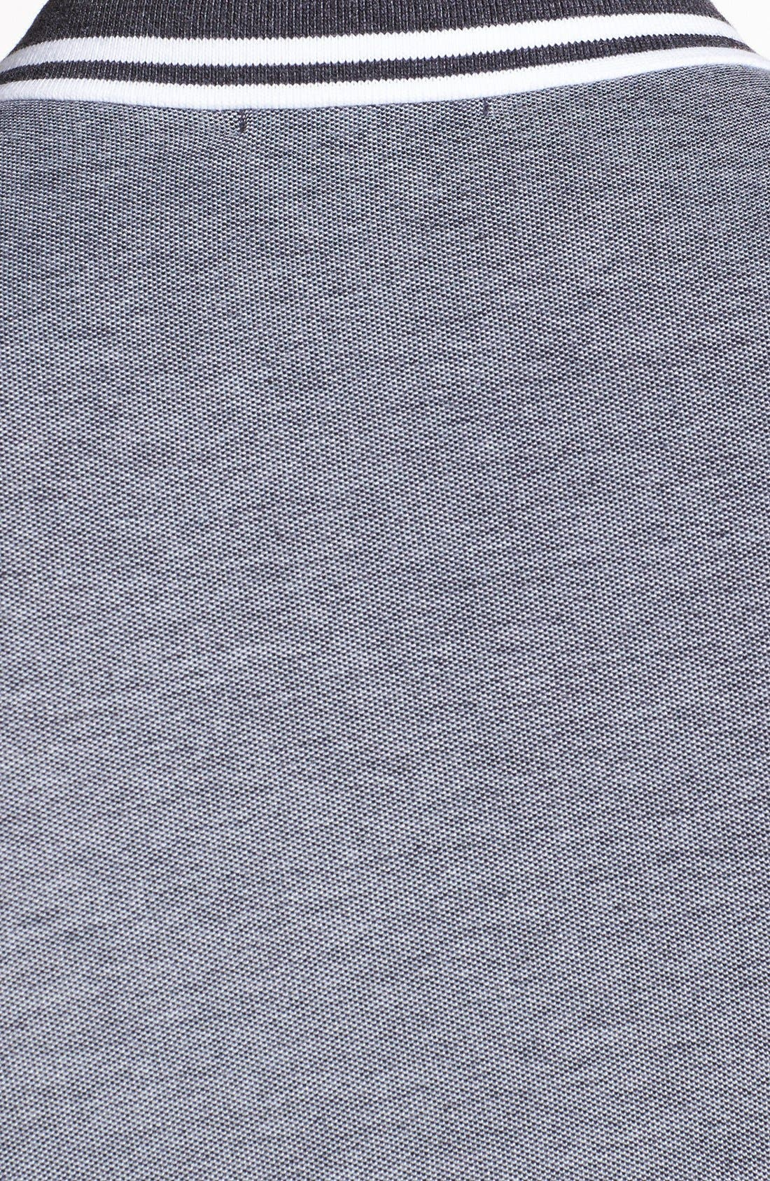 Alternate Image 3  - Topman Tipped Piqué Polo