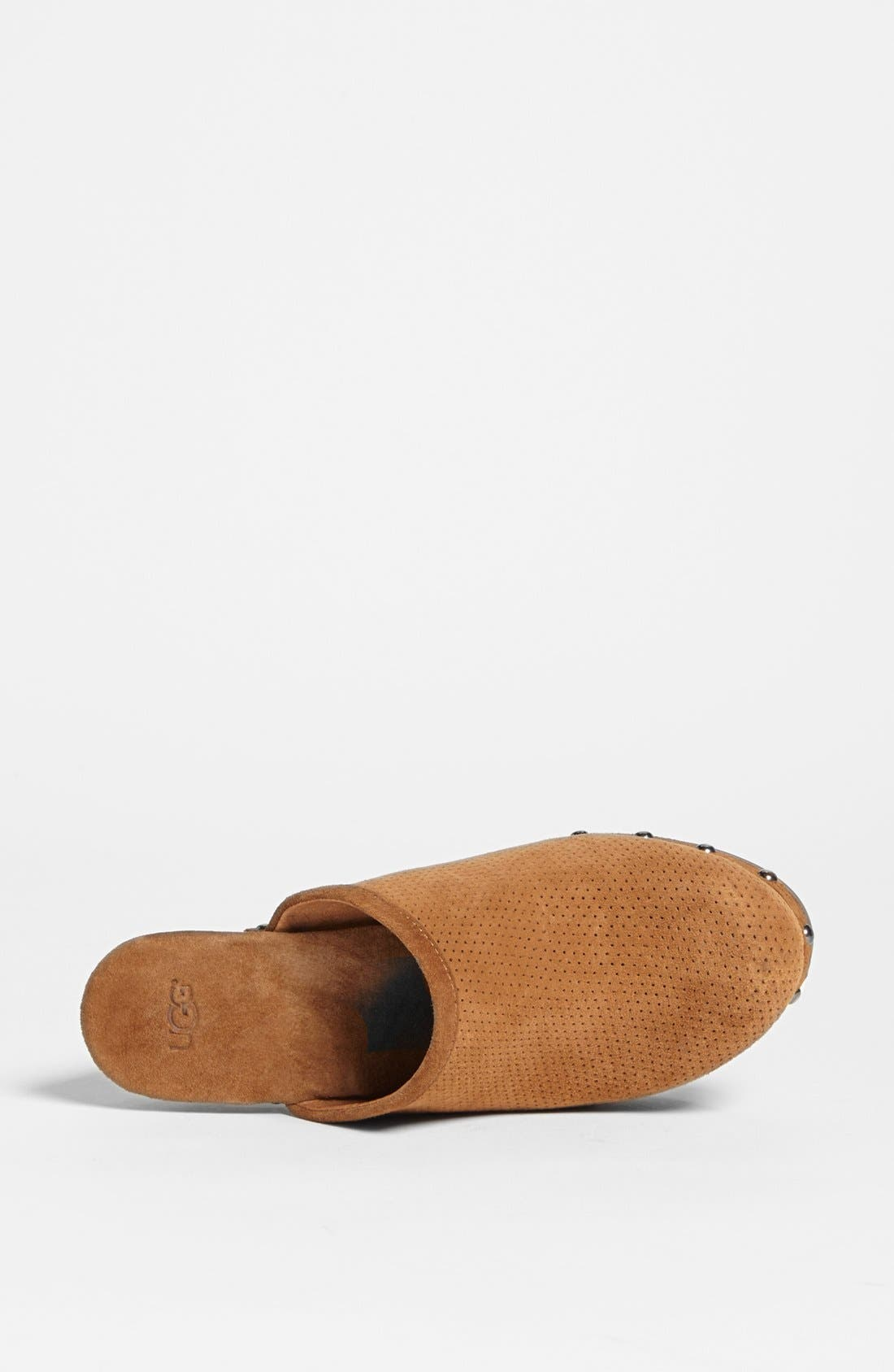 Alternate Image 3  - UGG® Australia '15 Minutes' Water Resistant Perforated Suede Clog