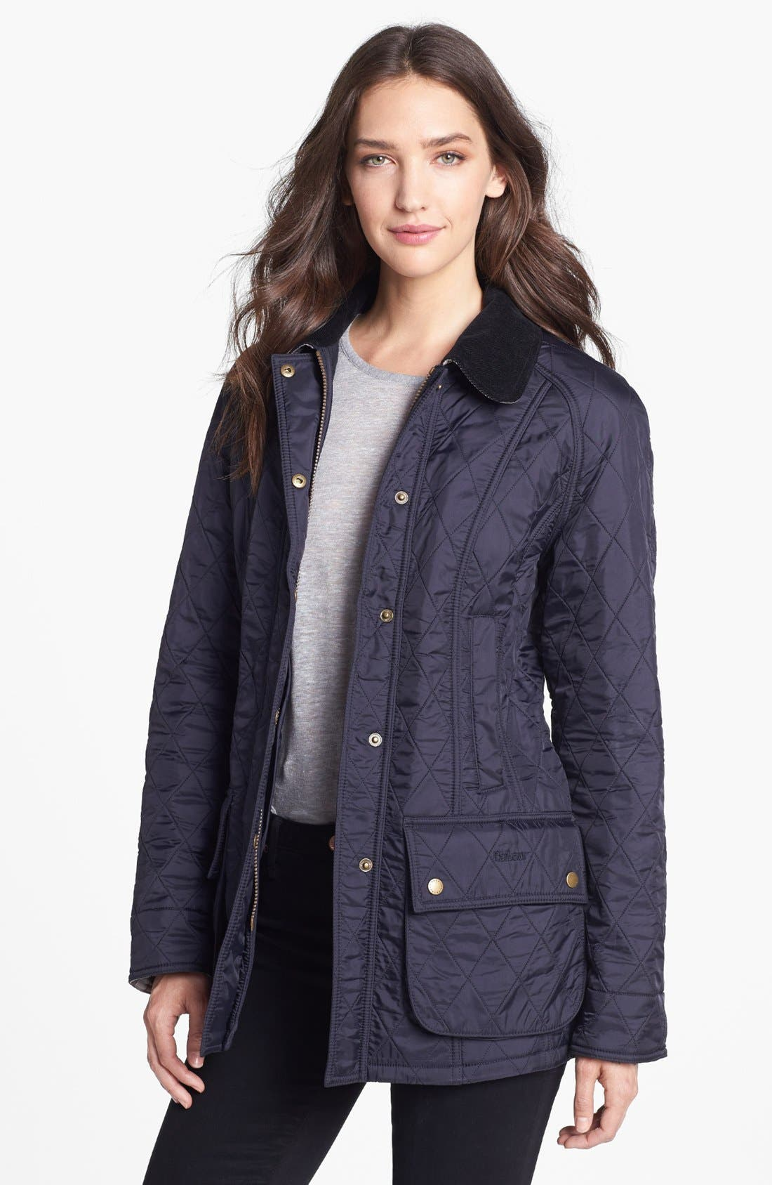 Barbour 'Beadnell' Quilted Jacket