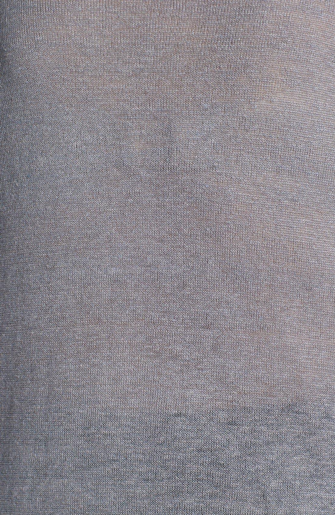 Alternate Image 3  - Eileen Fisher Linen & Silk Tunic Dress (Plus Size)