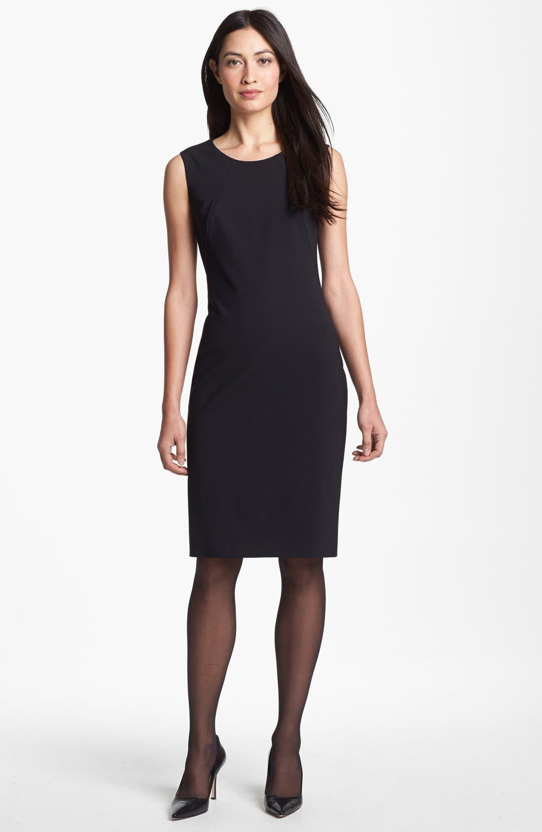 Main Image - BOSS HUGO BOSS Sleeveless Sheath Dress