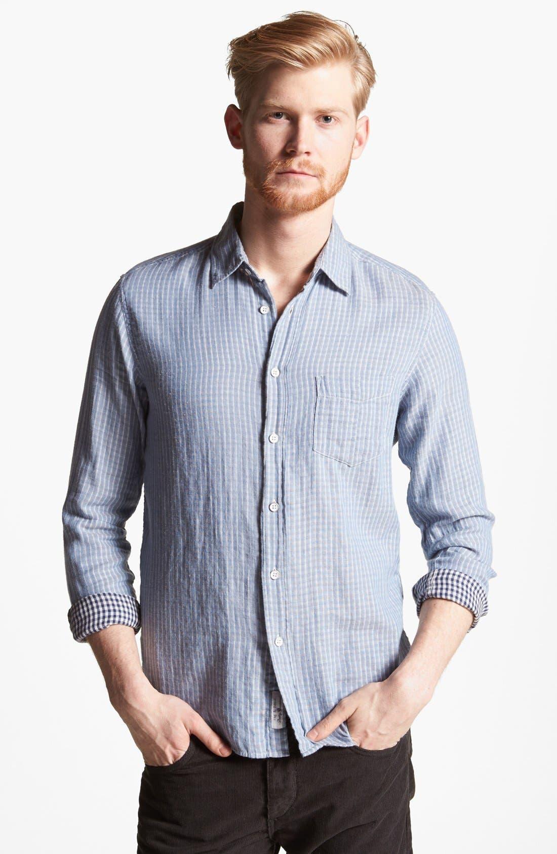 Alternate Image 1 Selected - rag & bone 'Yokohama' Double Faced Cotton Shirt