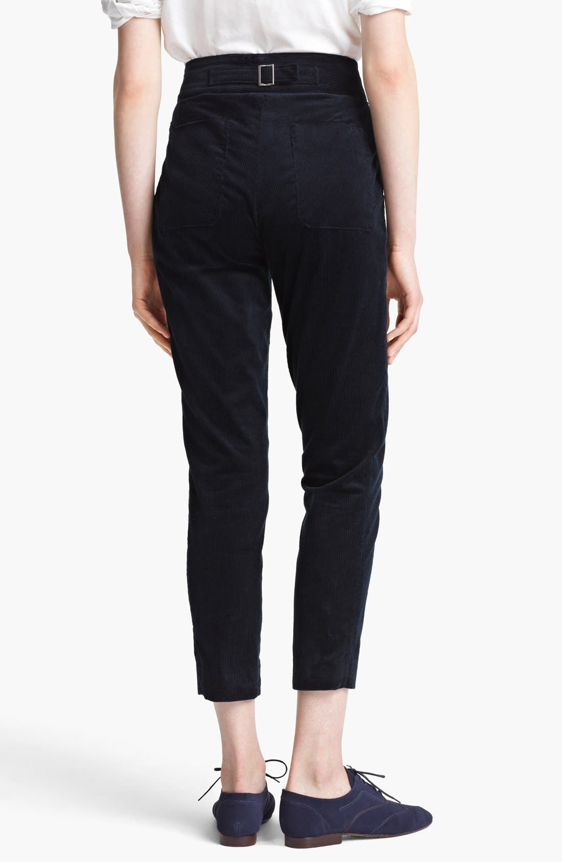 Alternate Image 2  - Band of Outsiders Skinny Corduroy Pants