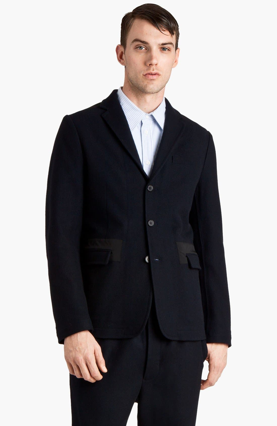 Alternate Image 1 Selected - Marni Three Button Wool Blend Blazer