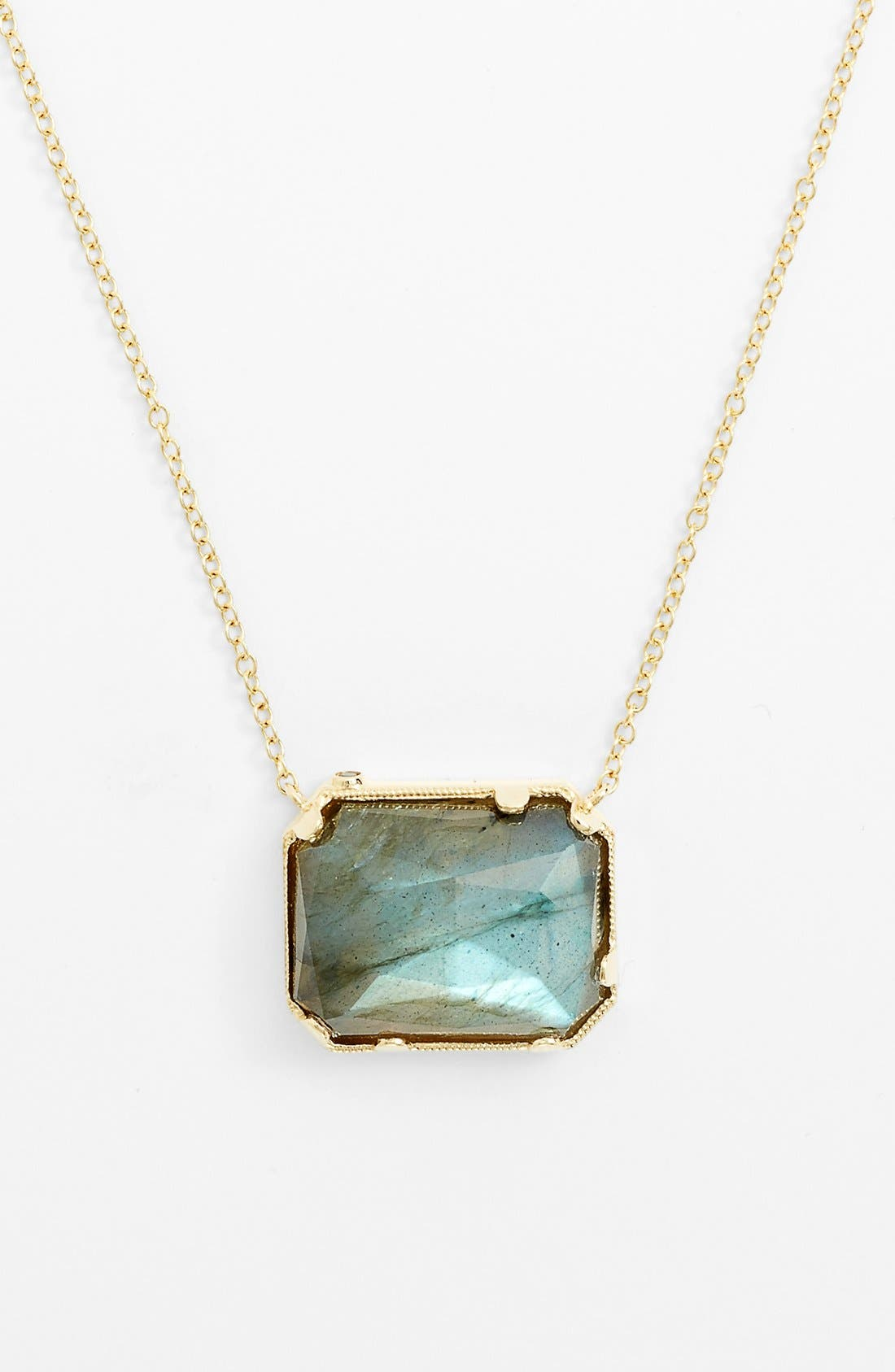 Alternate Image 1 Selected - Whitney Stern Stone Pendant Necklace