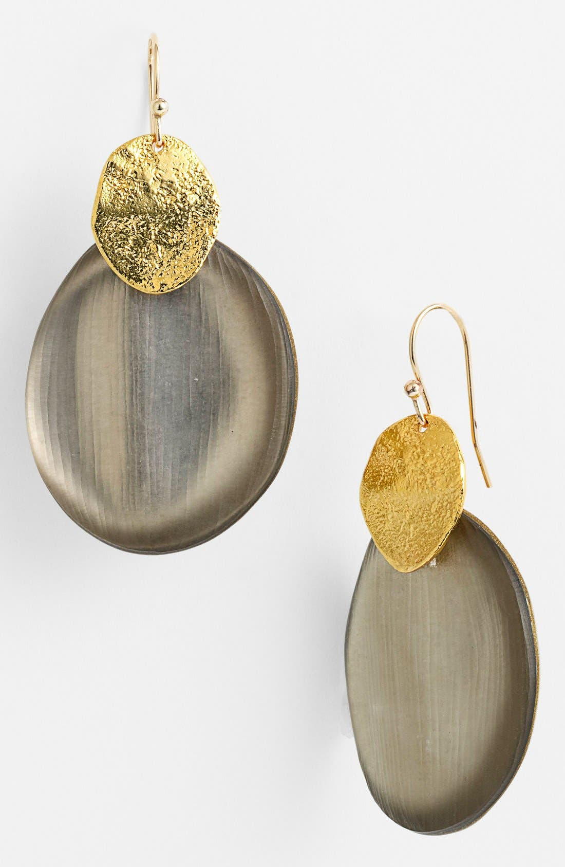Alternate Image 1 Selected - Alexis Bittar 'Lucite® - Neo Bohemian' Wafer Drop Earrings
