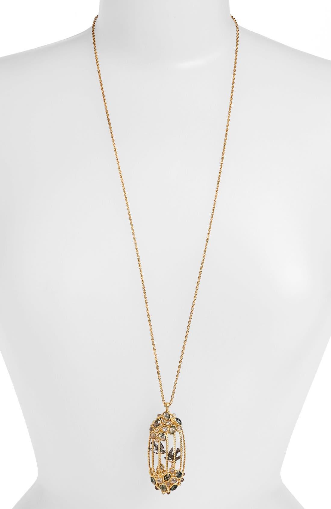 Alternate Image 1 Selected - Alexis Bittar 'Elements - Jardin de Papillon' Long Pendant Necklace