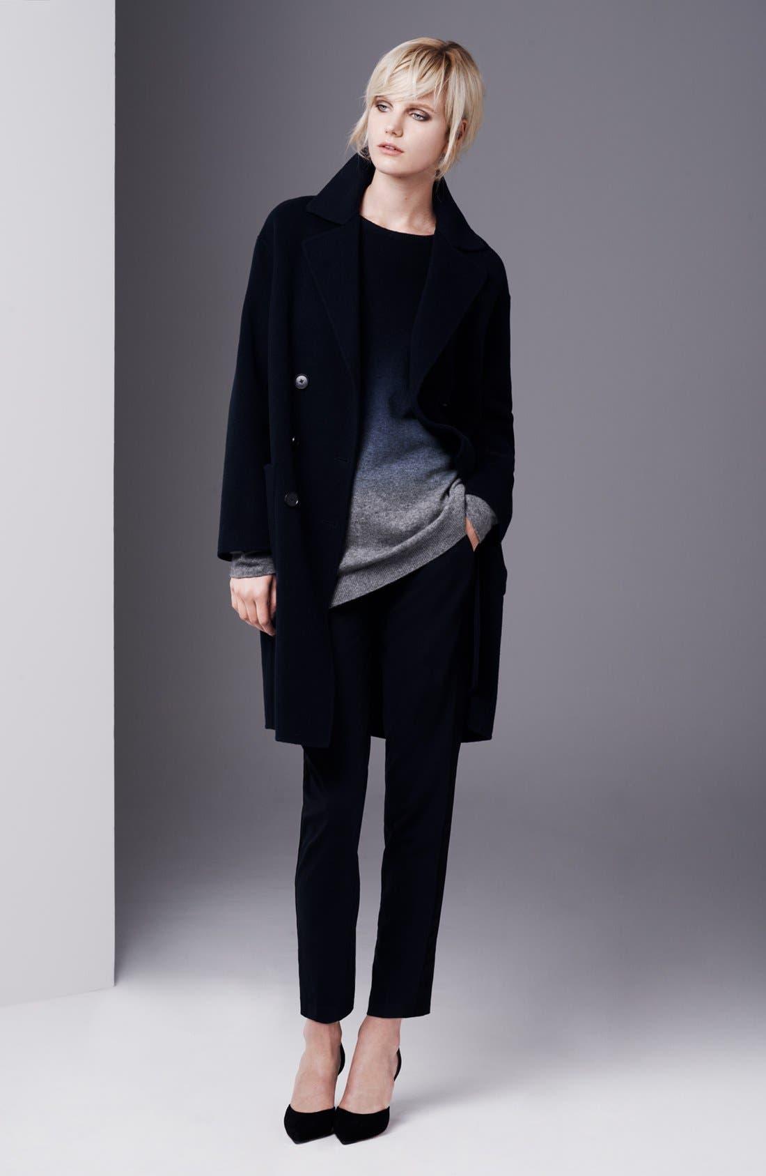 Alternate Image 4  - Vince Oversized Dip Dye Cashmere Blend Sweater