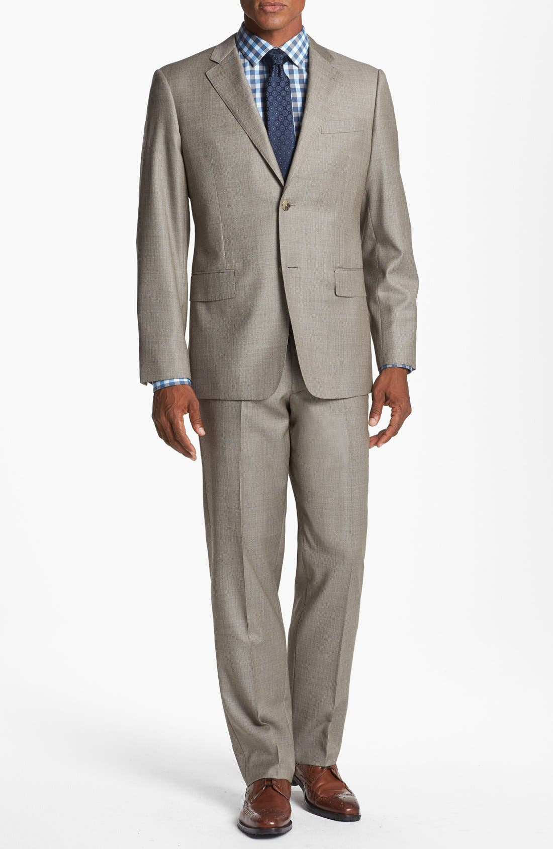 Alternate Image 1 Selected - John W. Nordstrom® Classic Fit Wool Suit