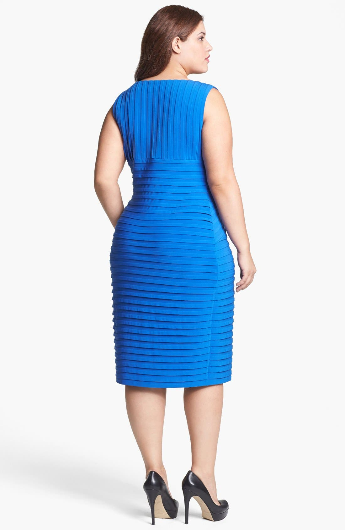 Alternate Image 2  - Calvin Klein Bandage Dress (Plus Size)