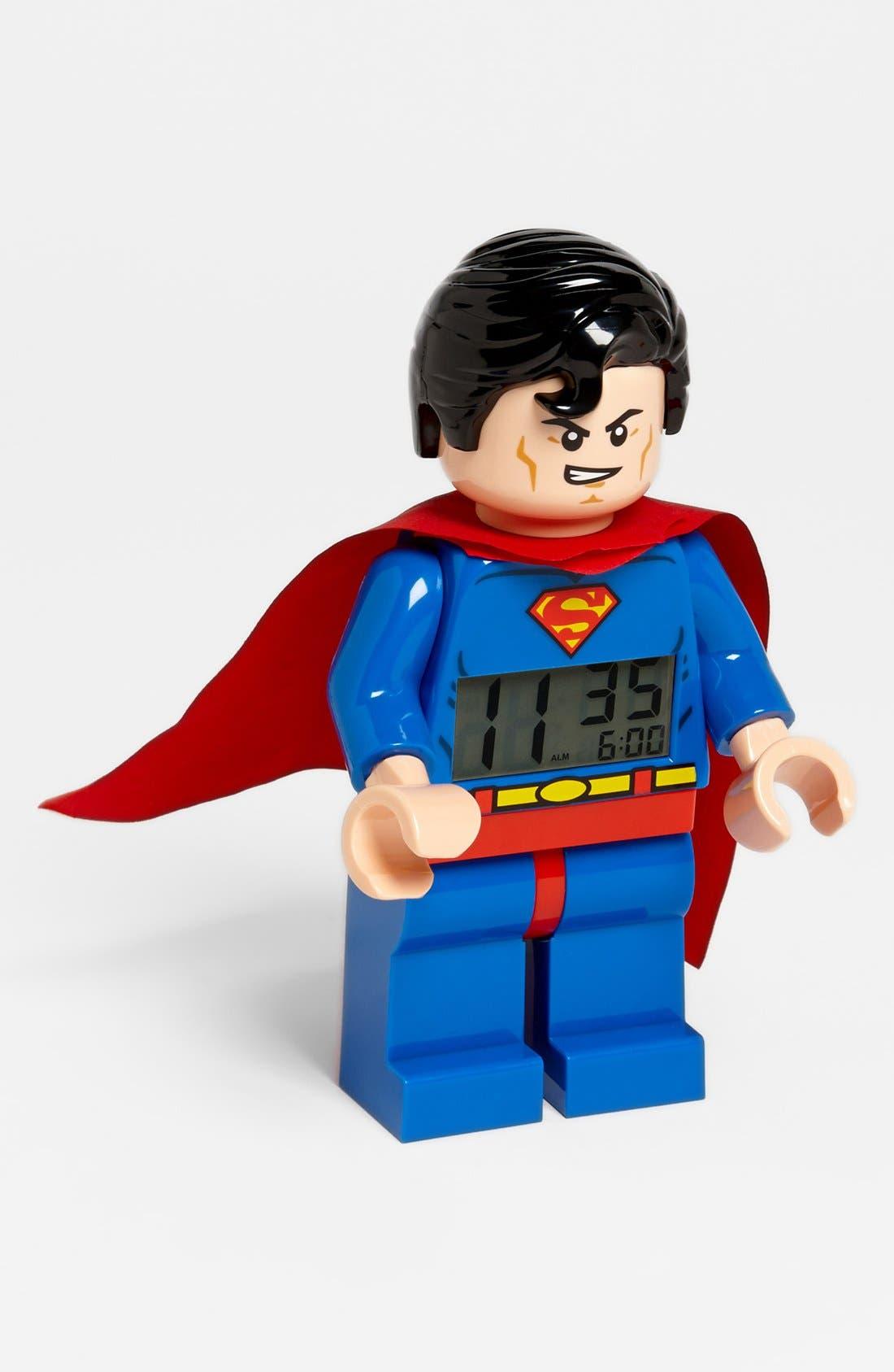 Alternate Image 1 Selected - LEGO® 'Superman' Alarm Clock
