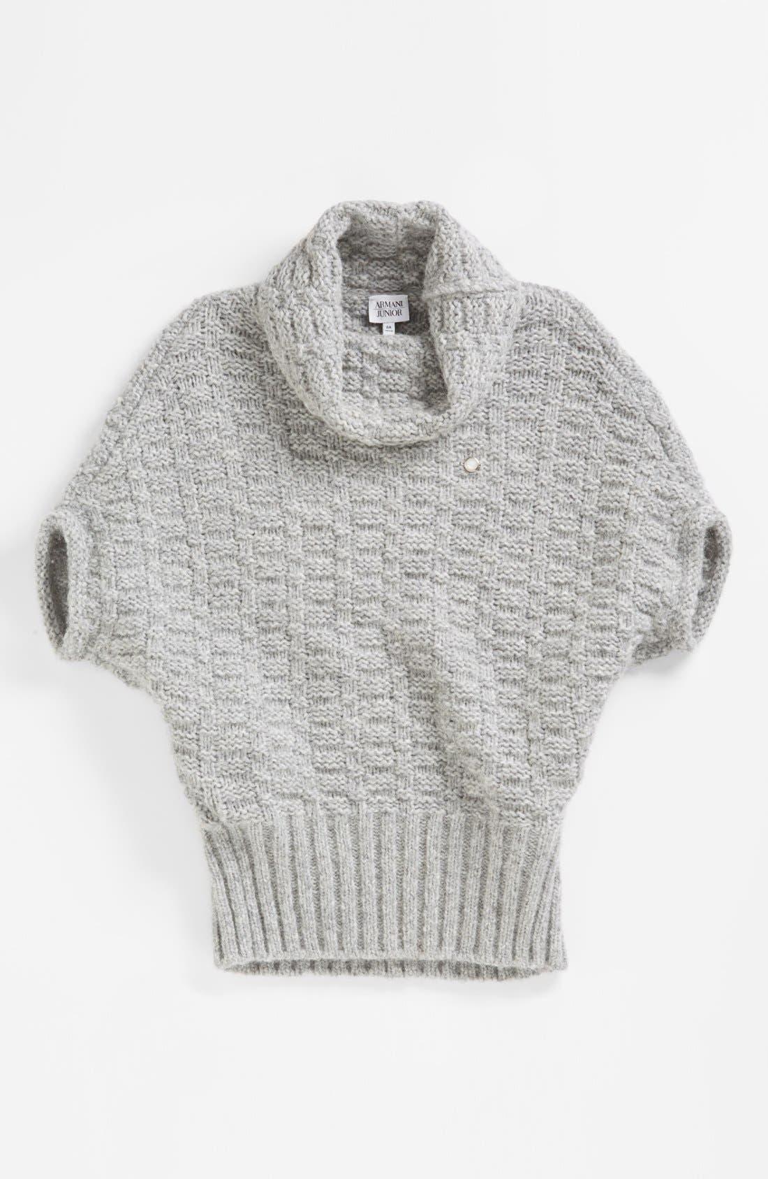 Alternate Image 1 Selected - Armani Junior Sweater (Big Girls)