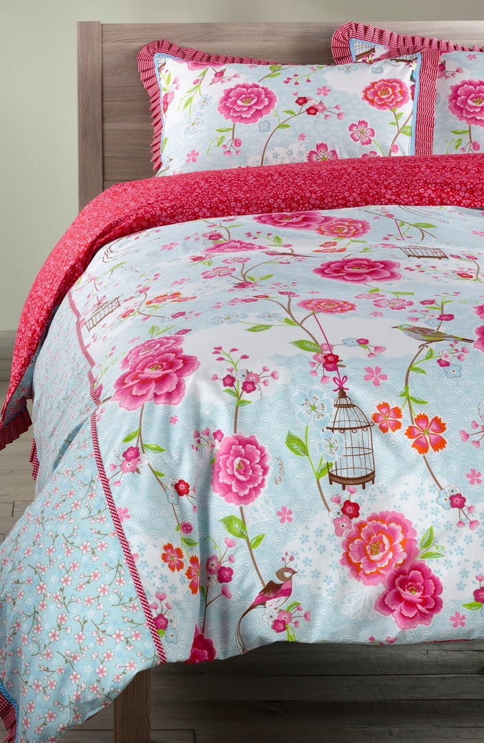 pip studio 39 birds in paradise 39 duvet cover nordstrom. Black Bedroom Furniture Sets. Home Design Ideas