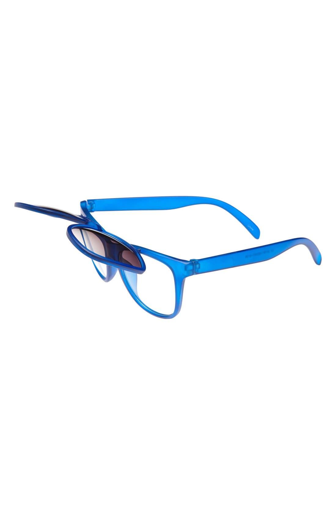 Alternate Image 2  - Icon Eyewear 'Mason' Flip-Up Sunglasses (Boys)