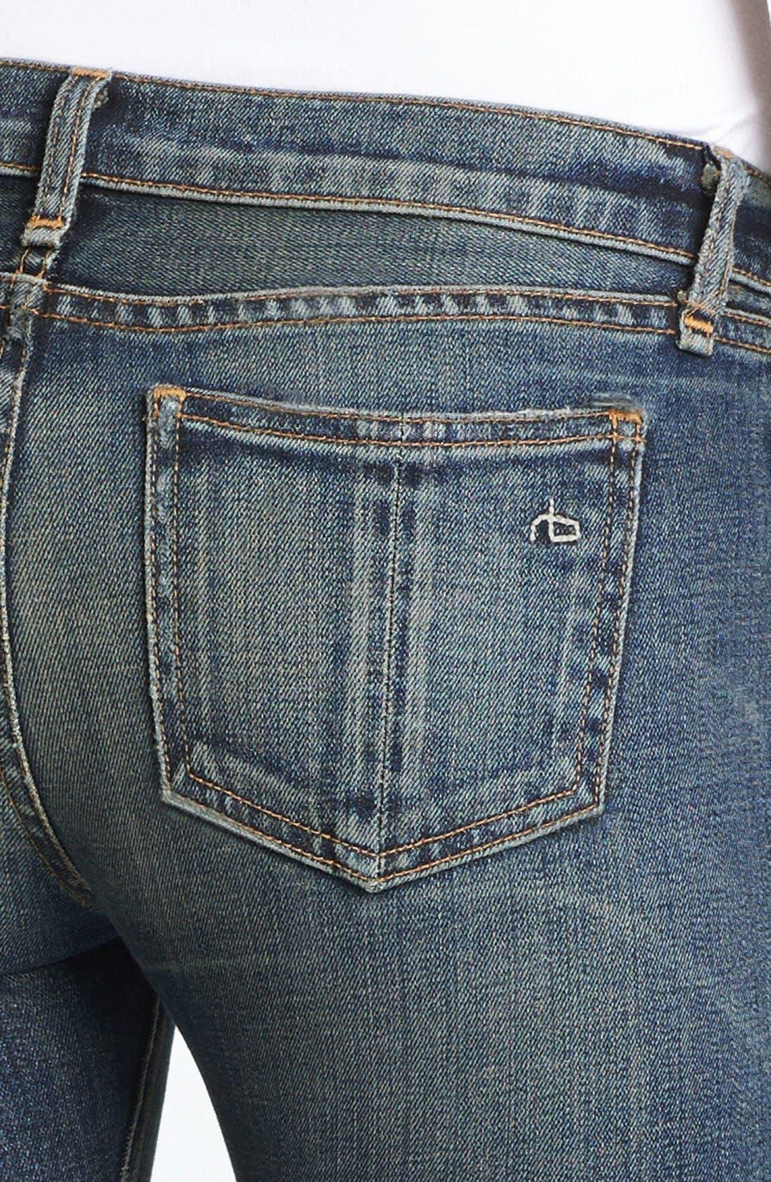 Alternate Image 3  - rag & bone/JEAN Skinny Stretch Jeans