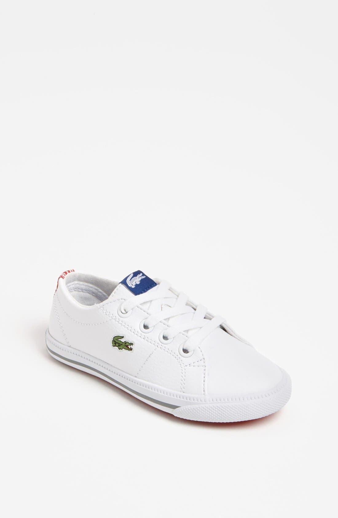 Alternate Image 1 Selected - Lacoste 'Marcel' Sneaker (Toddler)
