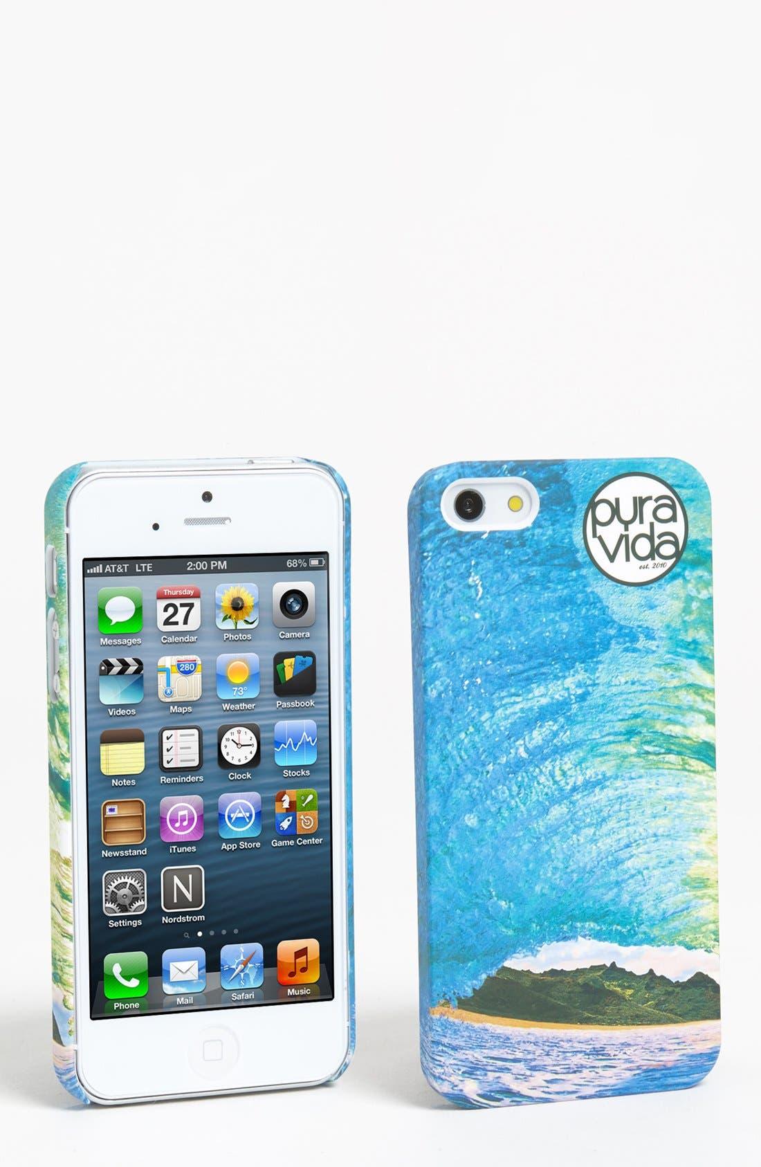 Alternate Image 1 Selected - Pura Vida iPhone 5 Case