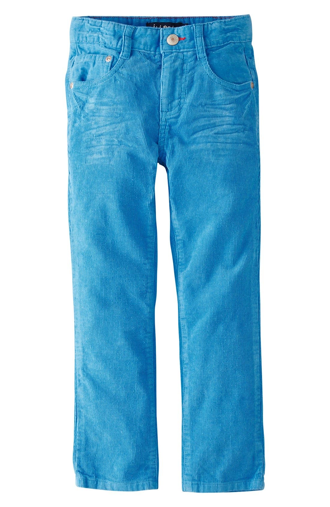 Main Image - Mini Boden Slim Fit Corduroy Pants (Toddler Boys, Little Boys & Big Boys)