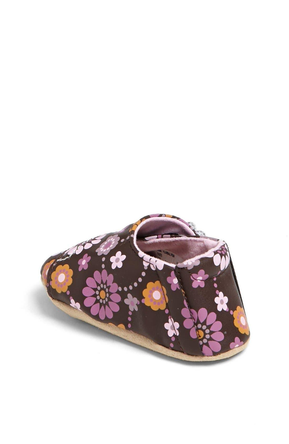 Alternate Image 2  - Stride Rite 'Floral Fun' Crib Shoe (Baby Girls)