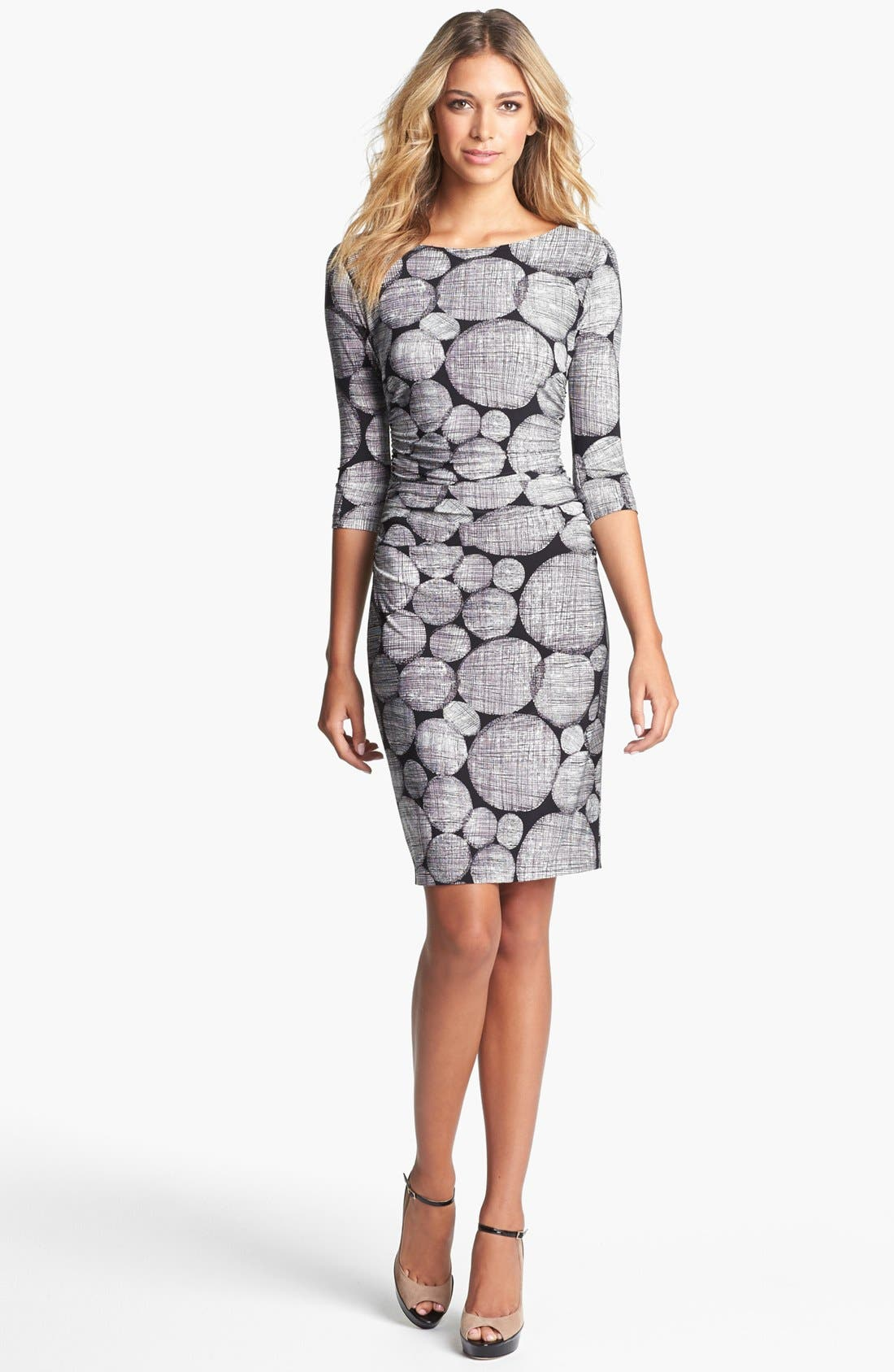 Alternate Image 1 Selected - KAMALIKULTURE Print Sheath Dress