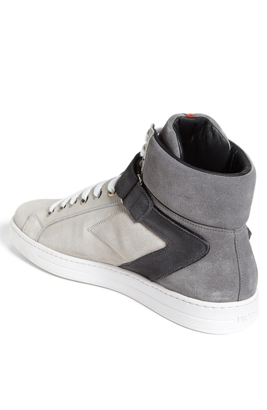 Alternate Image 2  - Prada 'Avenue' High Top Sneaker