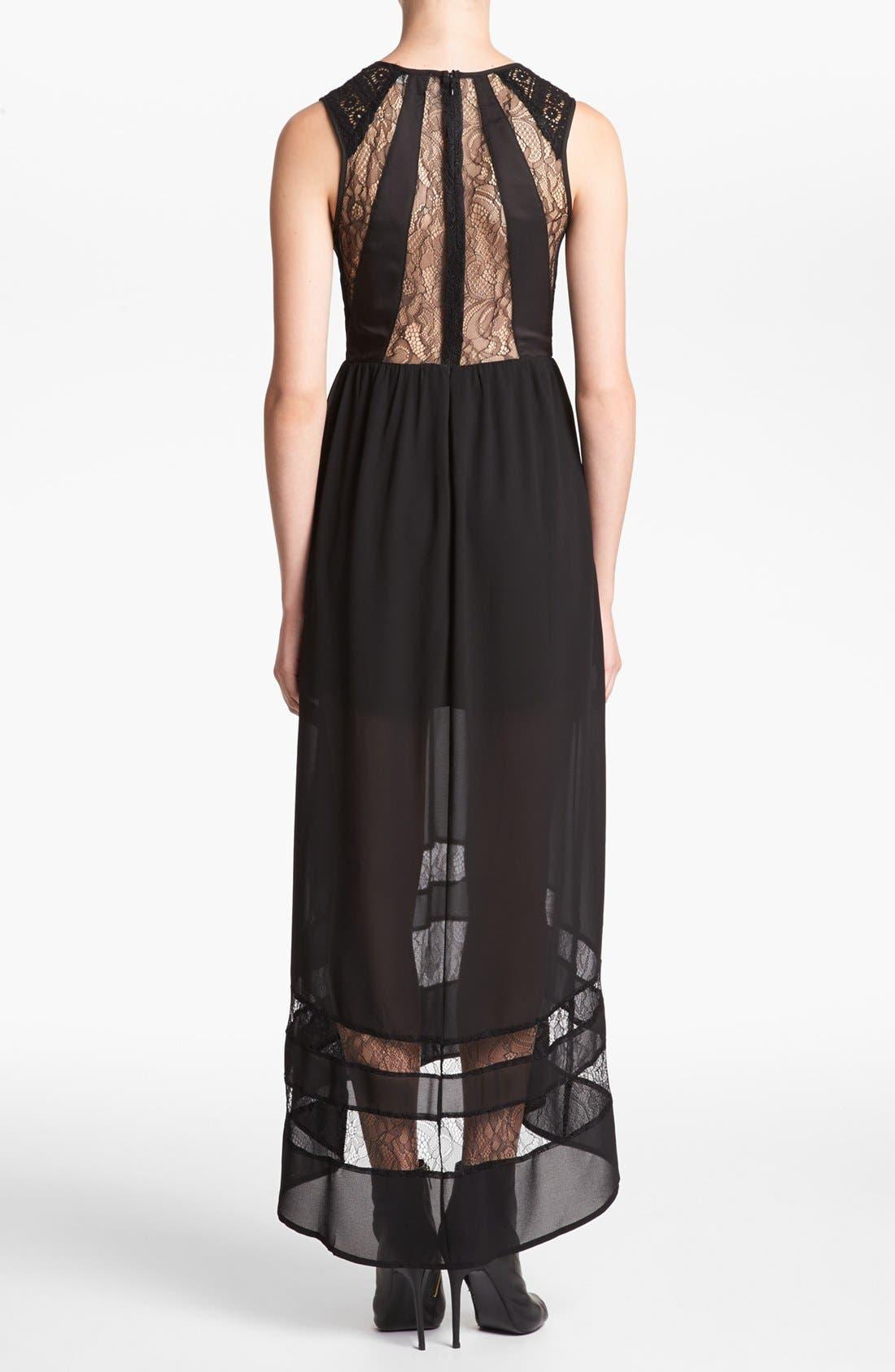 Alternate Image 2  - ASTR Lace Inset Maxi Dress