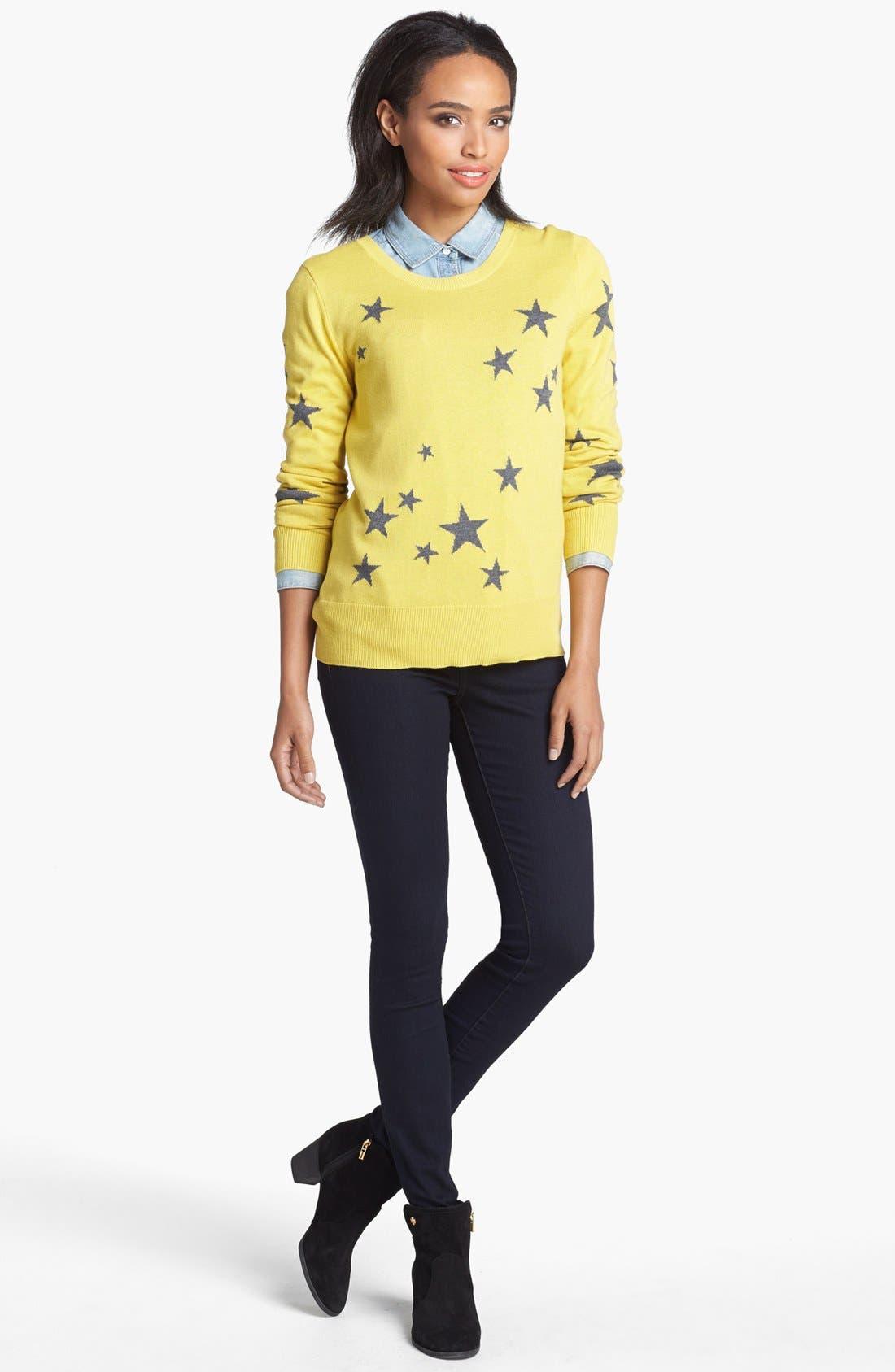 Main Image - Halogen® Intarsia Knit Sweater