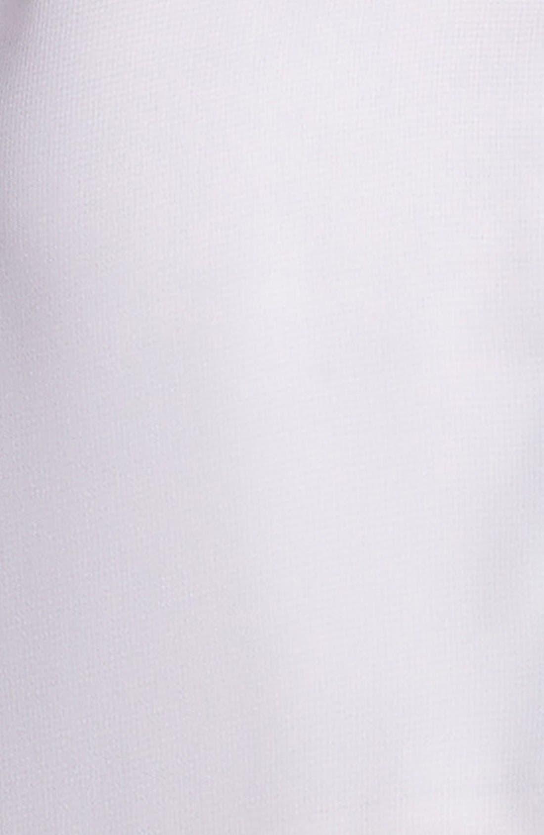 Alternate Image 3  - Living Doll Contrast Trim Henley Shirt (Juniors)