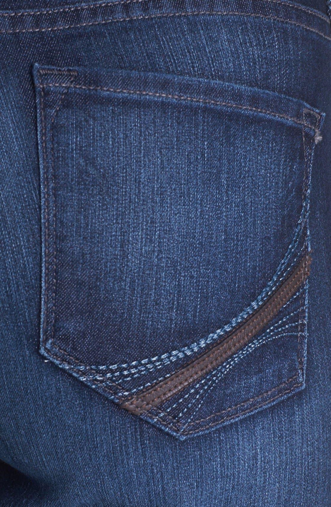 Alternate Image 3  - NYDJ 'Barbara' Embellished Stretch Bootcut Jeans (Burbank)