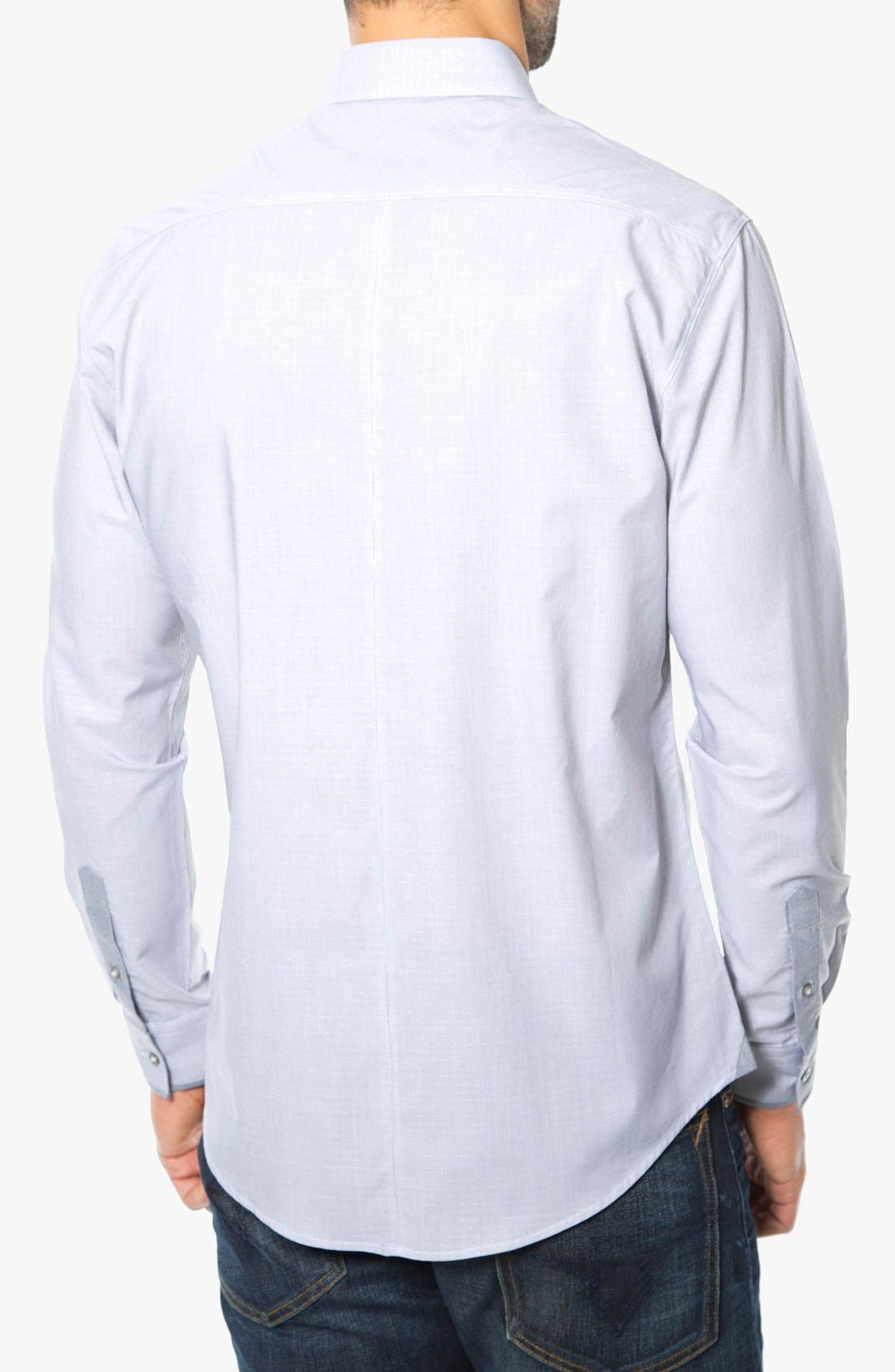 Alternate Image 2  - 7 Diamonds 'Electric Company' Trim Fit Cotton Sport Shirt