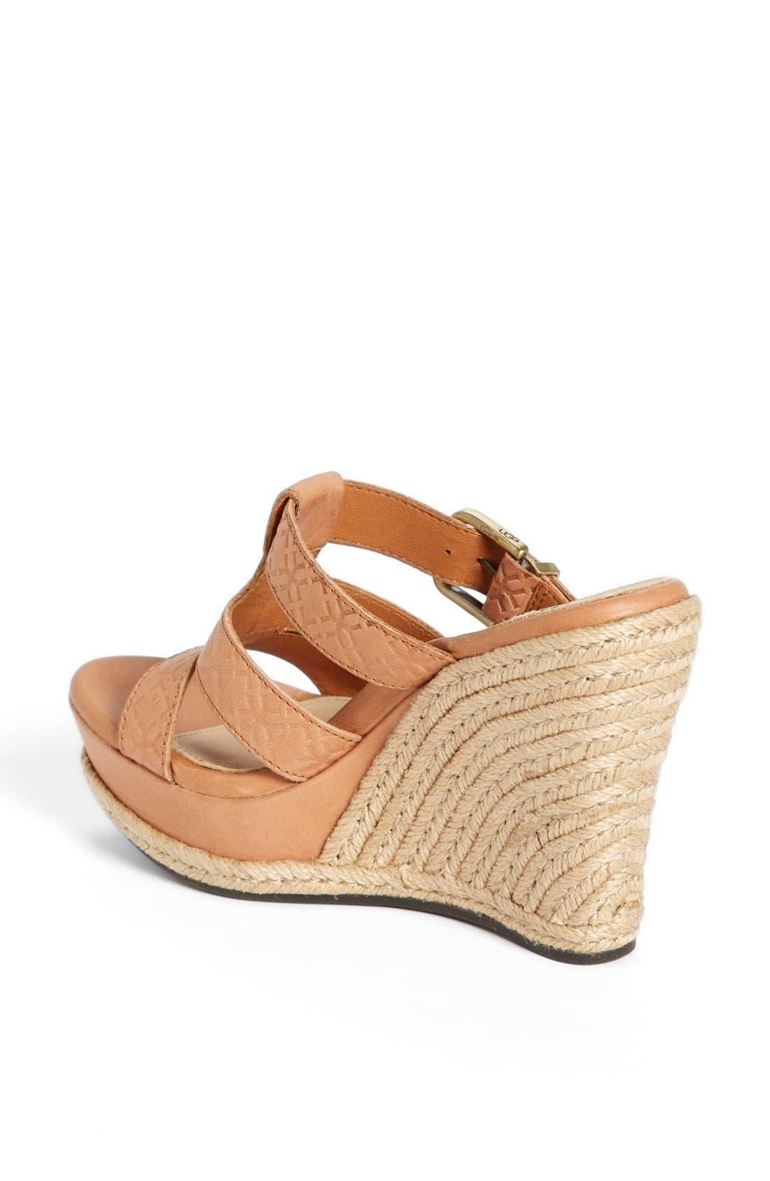 Alternate Image 2  - UGG® Australia 'Hedy' Sandal (Women)