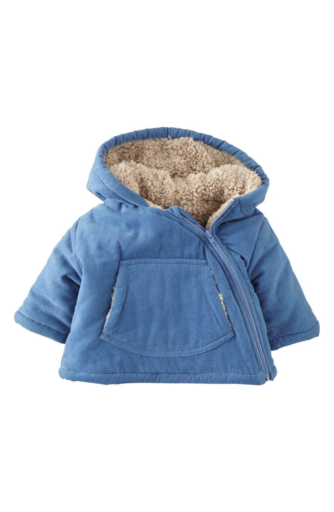 Alternate Image 1 Selected - Mini Boden Corduroy Jacket (Baby Girls)