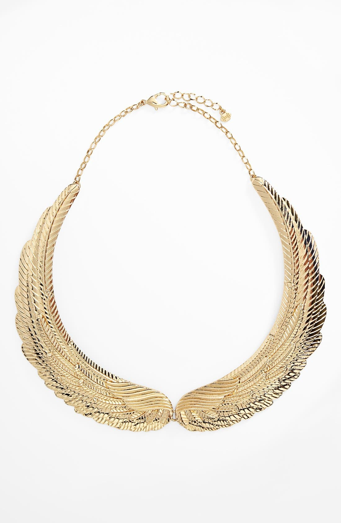 Main Image - Metal Haven by KENDALL + KYLIE Wing Necklace (Juniors) (Nordstrom Exclusive)