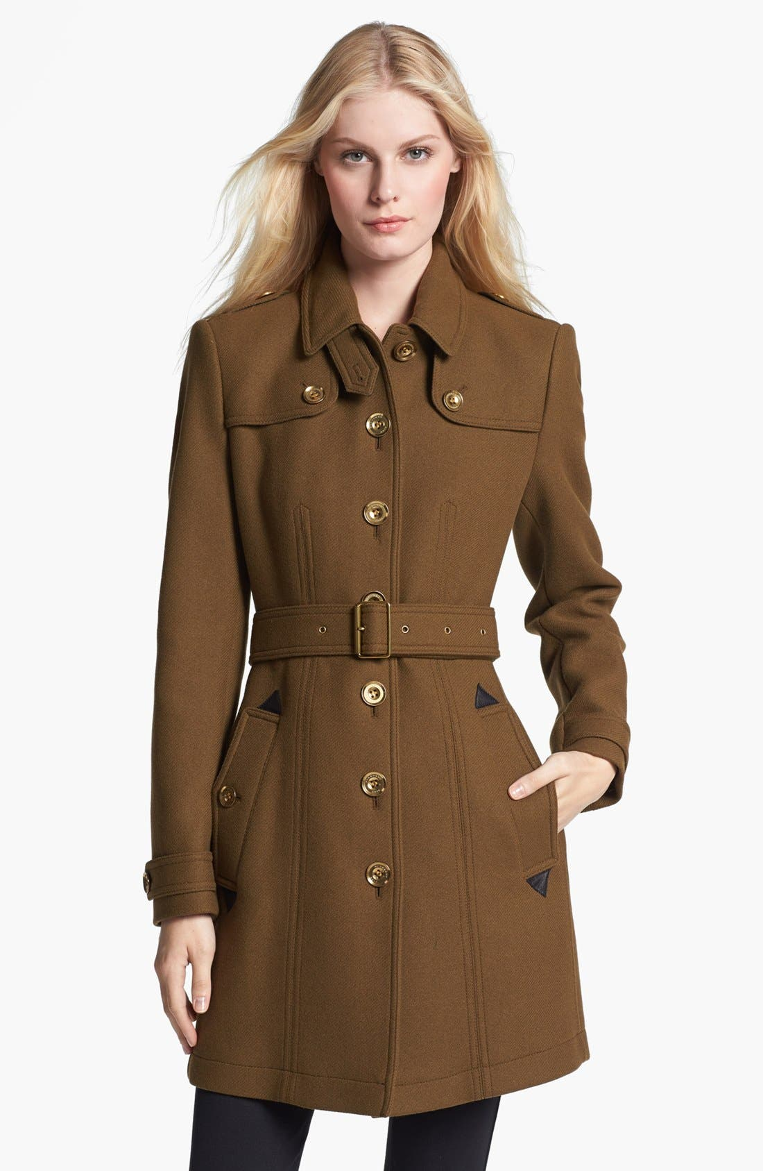 Main Image - Burberry Brit 'Didmoore' Single Breasted Coat