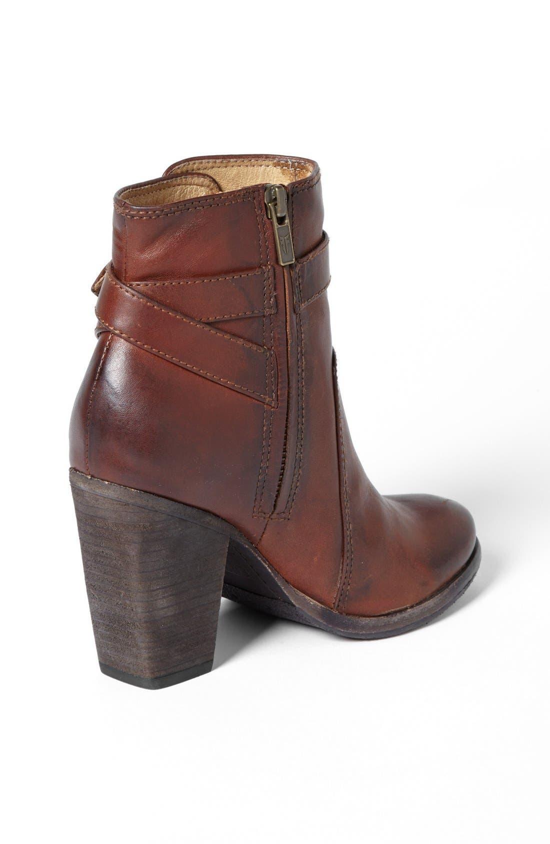 Alternate Image 2  - Frye 'Patty' Leather Riding Bootie (Women)