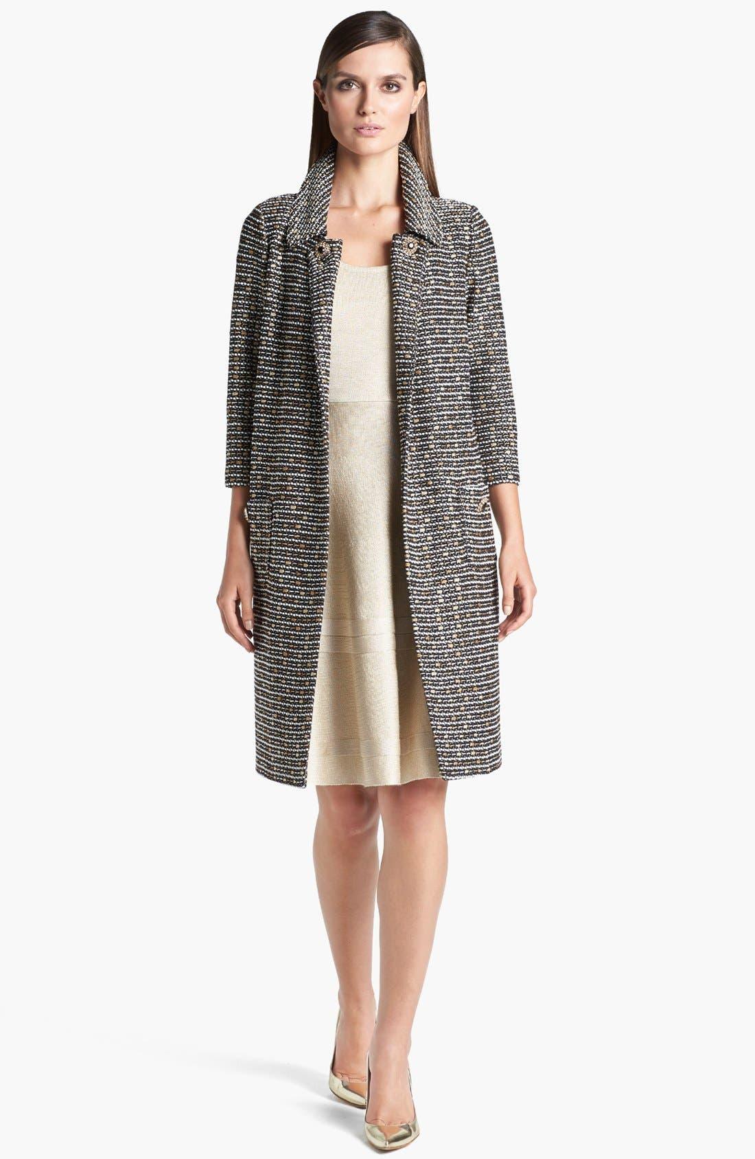 Alternate Image 2  - St. John Collection Coat & Dress