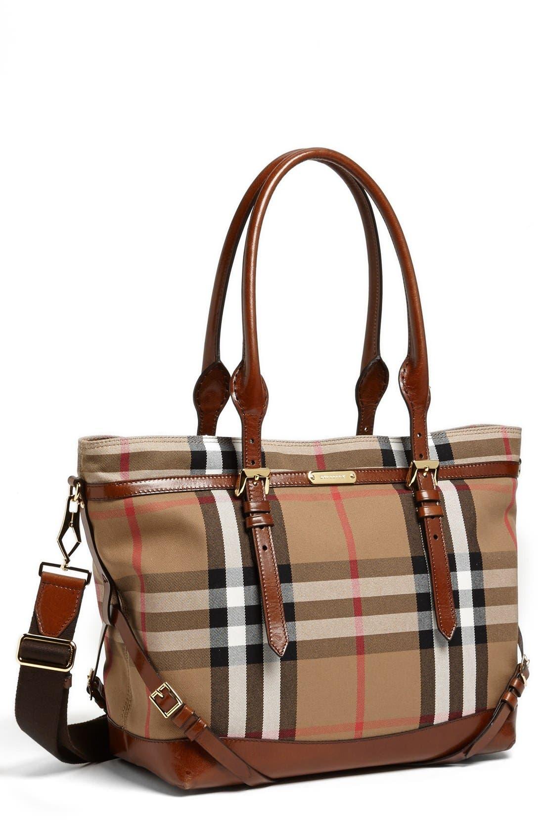 Diaper Bag,                             Main thumbnail 1, color,                             Dark Tan