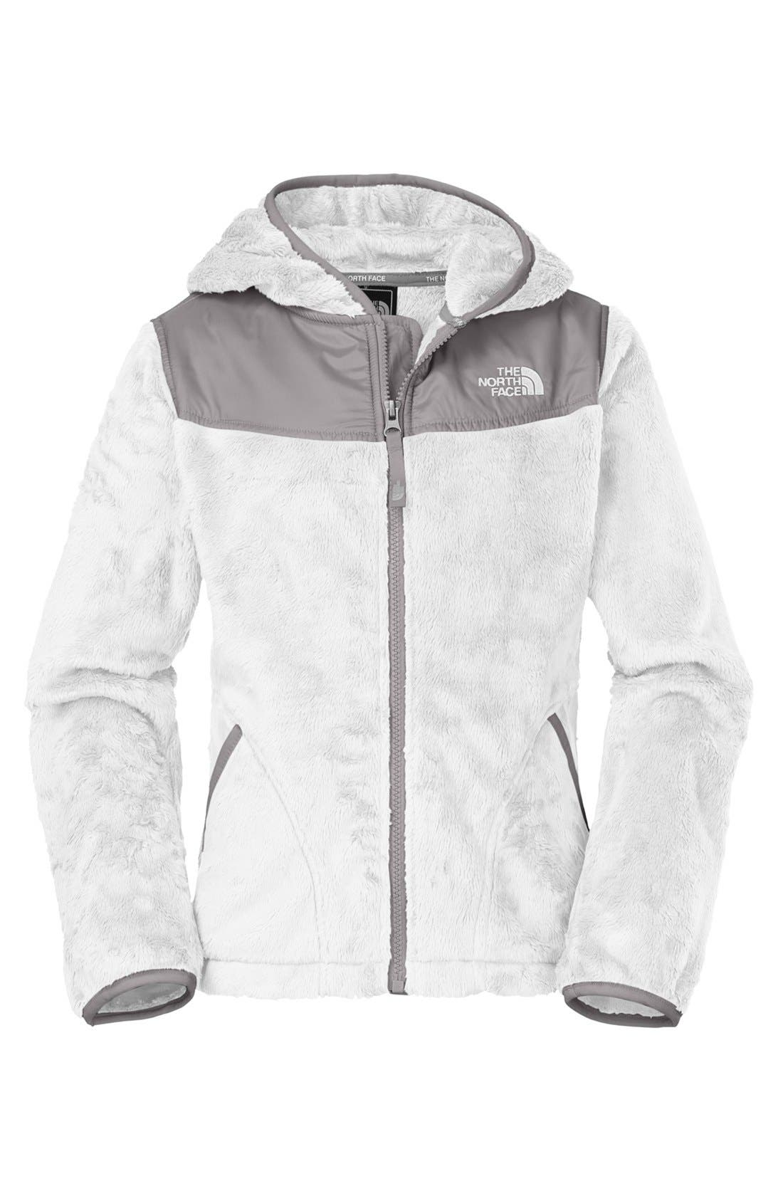 Alternate Image 1 Selected - The North Face 'Oso' Hooded Fleece Jacket (Little Girls)