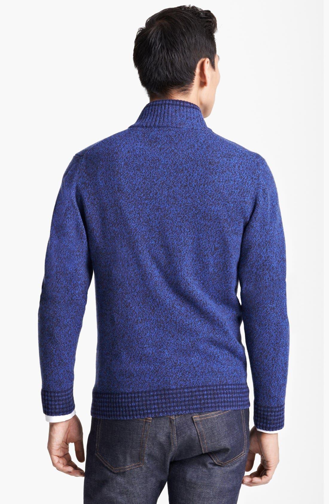 Alternate Image 2  - Etro Wool Zip Sweater