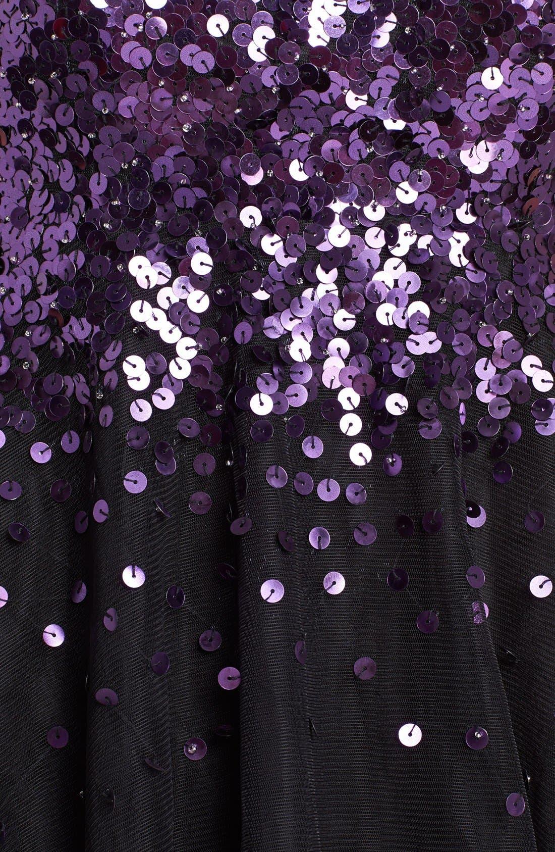 Alternate Image 4  - Sean Collection Embellished Tulle Fit & Flare Dress