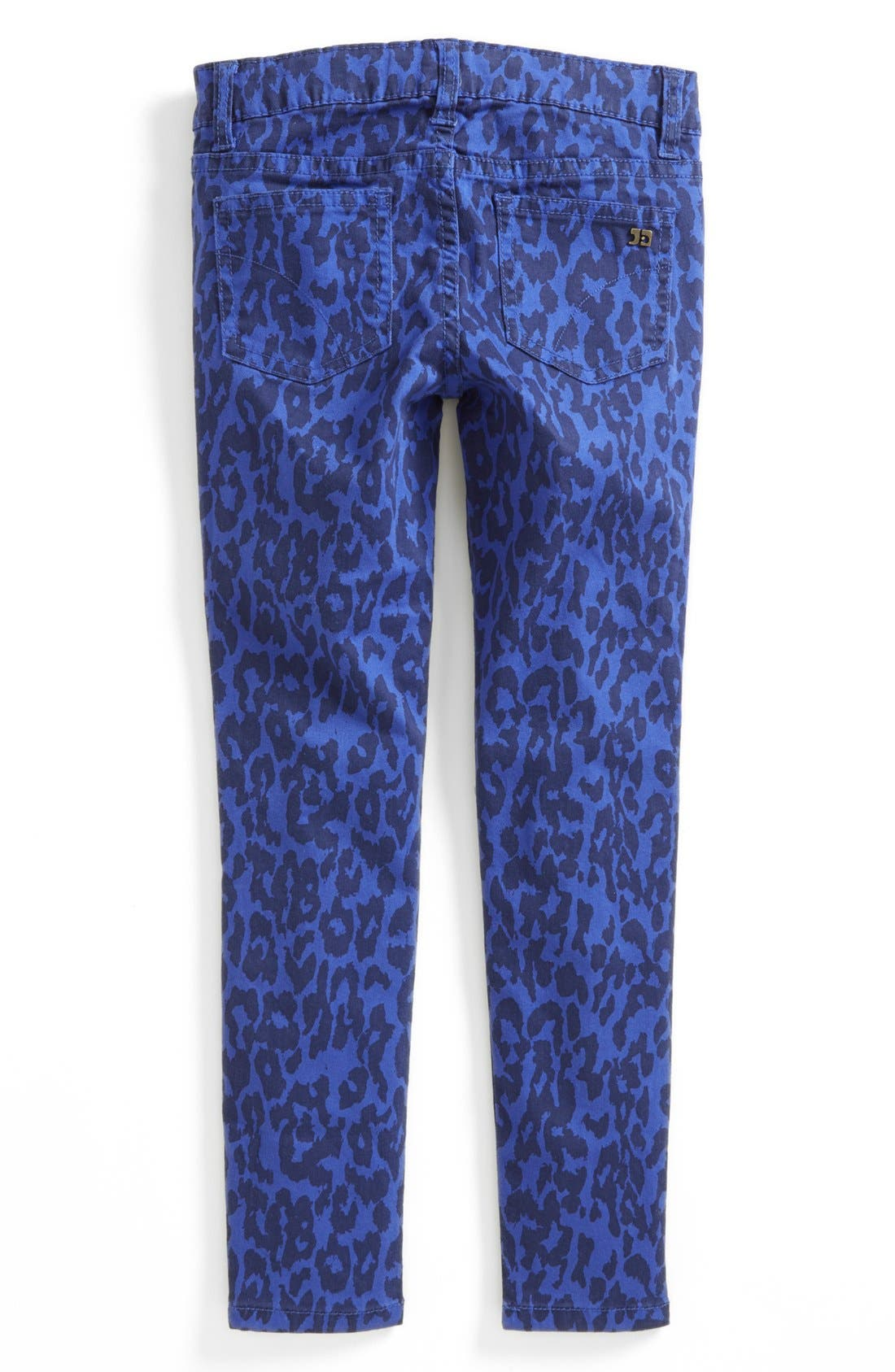 Alternate Image 1 Selected - Joe's Leopard Print Skinny Jeans (Big Girls)
