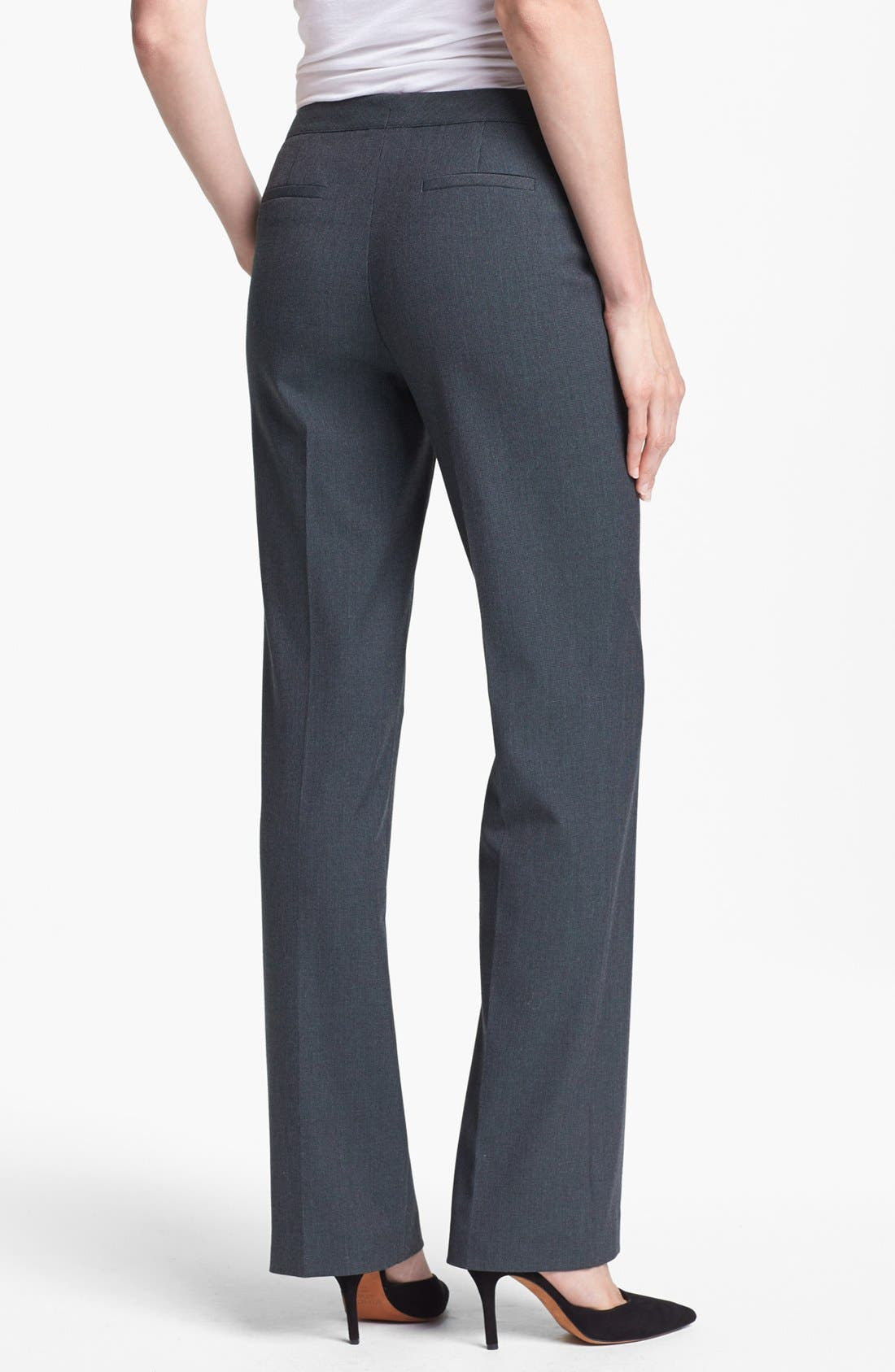 Alternate Image 2  - Halogen® 'Taylor - Fox Hunt' Curvy Fit Pants (Regular & Petite)