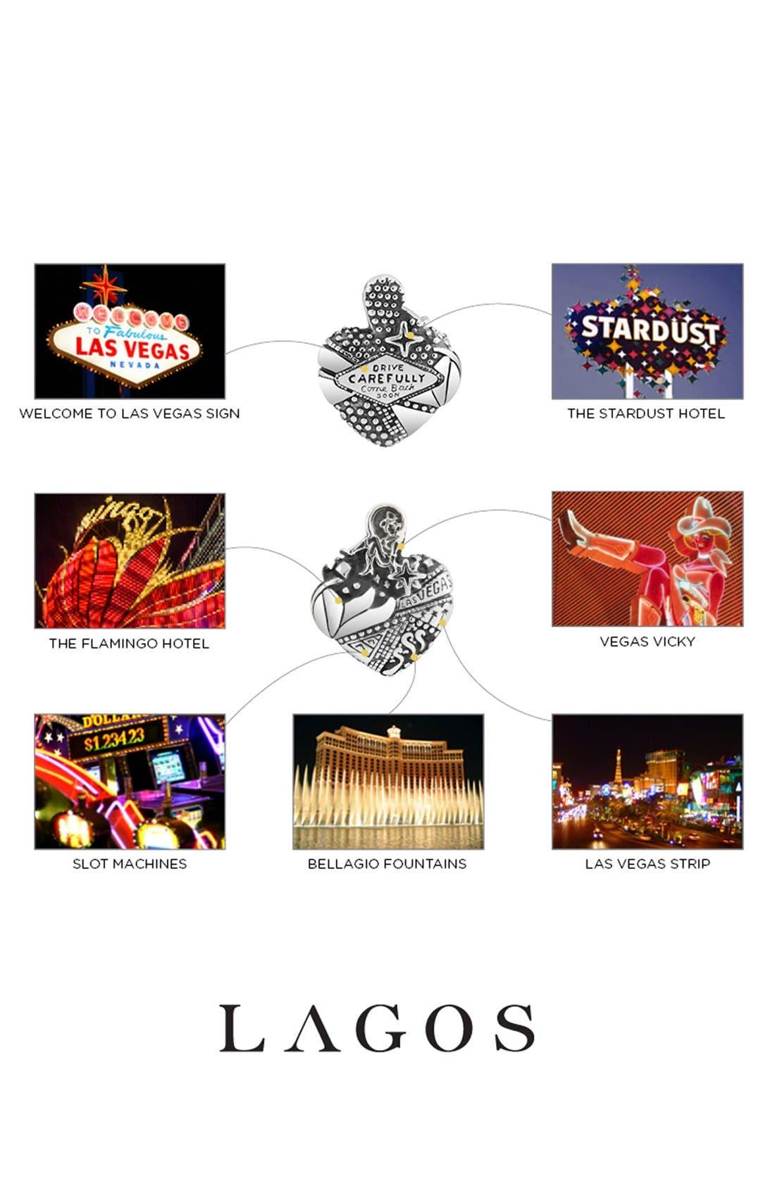 'Hearts of LAGOS - Las Vegas' Reversible Pendant Necklace,                             Alternate thumbnail 5, color,                             Heart Of Las Vegas