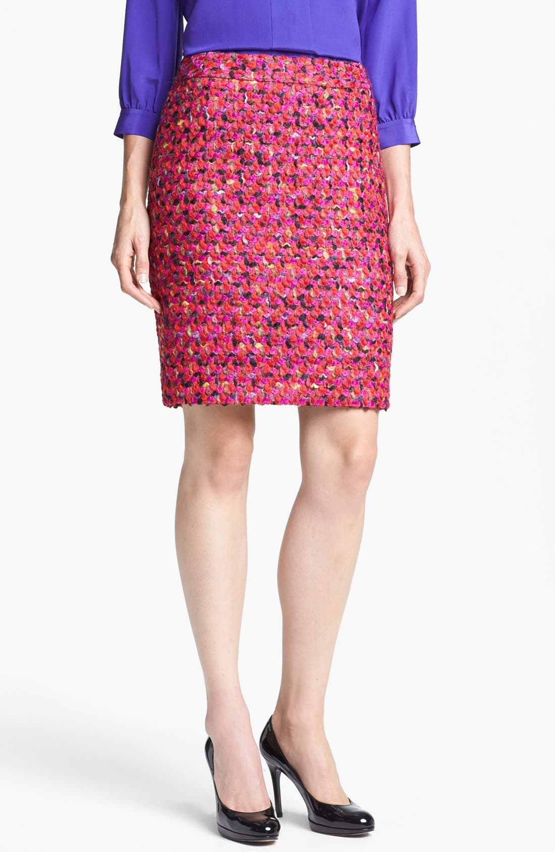 Alternate Image 1 Selected - kate spade new york 'judy' wool blend skirt