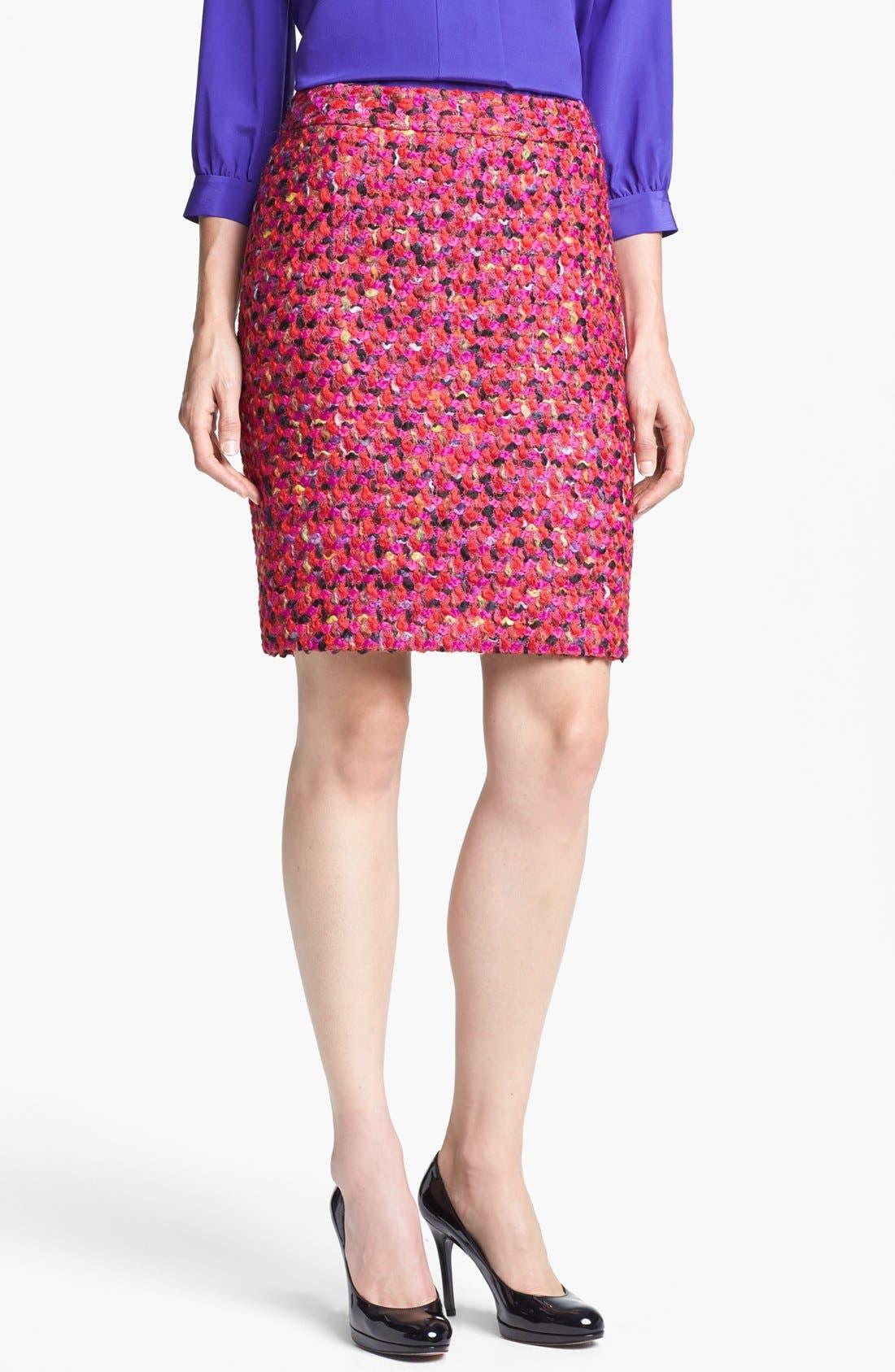 Main Image - kate spade new york 'judy' wool blend skirt