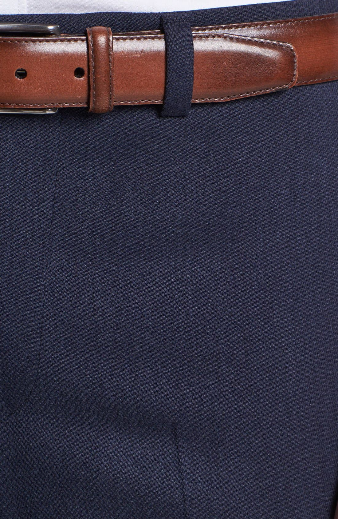 Alternate Image 3  - Ted Baker London Flat Front Tricotine Trousers