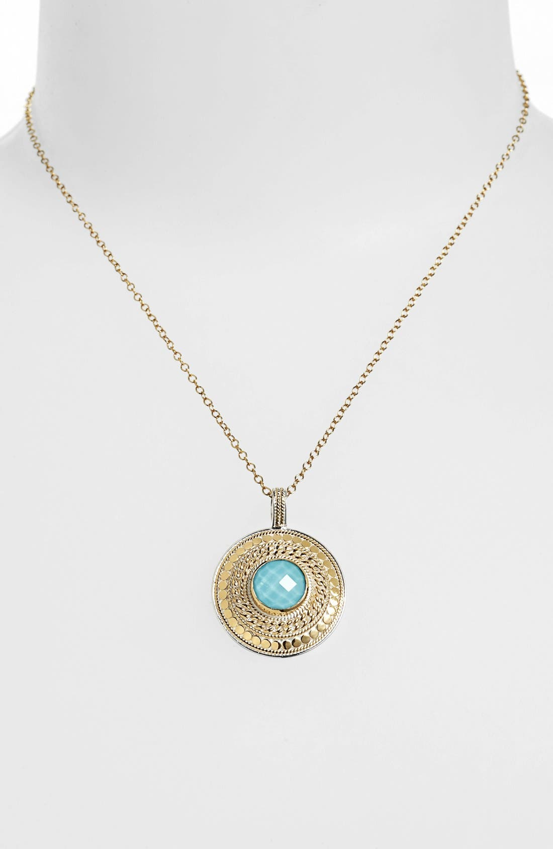 Main Image - Anna Beck 'Gili' Wire Rimmed Pendant Necklace