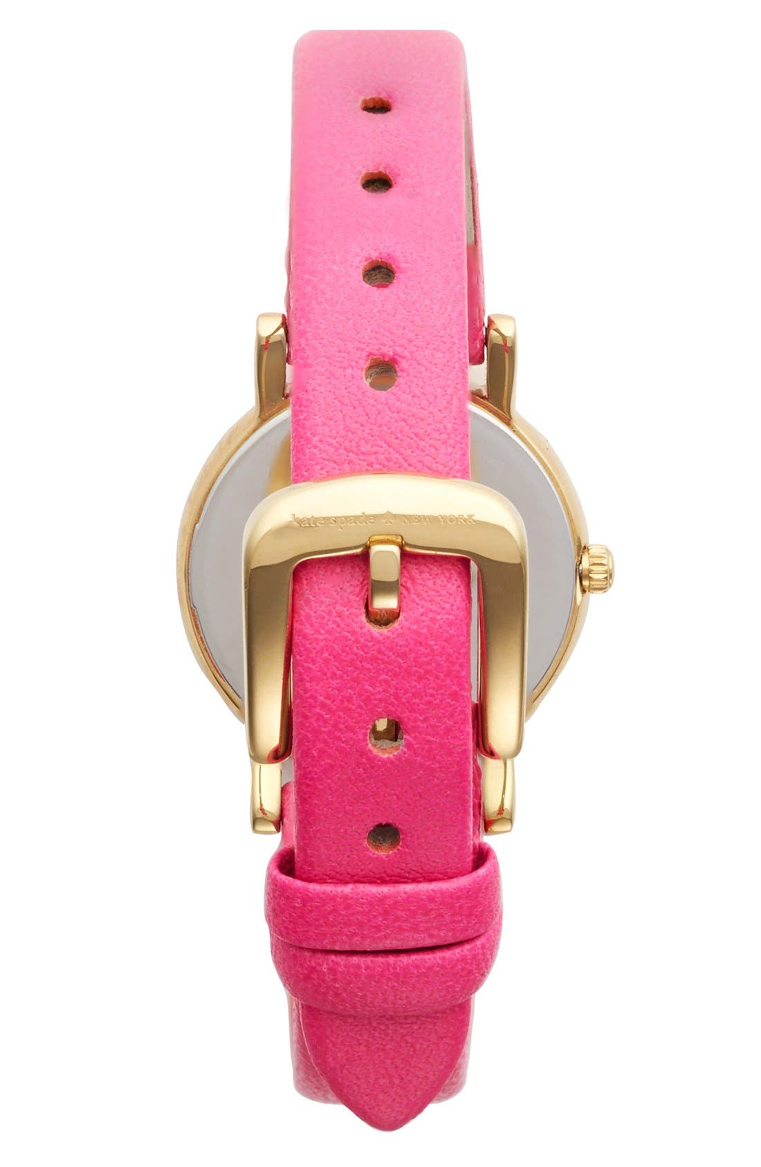 Alternate Image 2  - kate spade new york 'metro mini' glitter dial watch, 24mm
